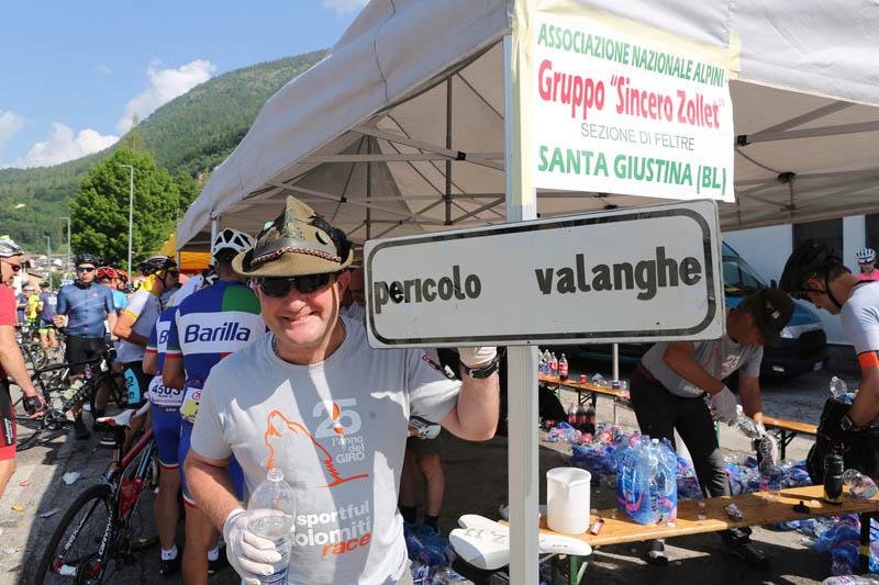 Ristoro Pieve Tesino Sportful Dolomiti Race 2019
