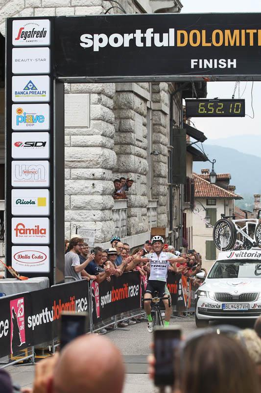 Enrico Zan Sportful Dolomiti Race 2019