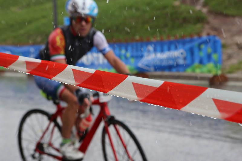 Pioggia Sportful Dolomiti Race 2019