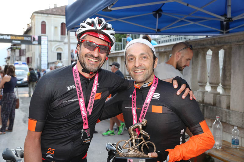 Le maglie nere - Sportful Dolomiti Race - Granfondo ciclistica Feltre
